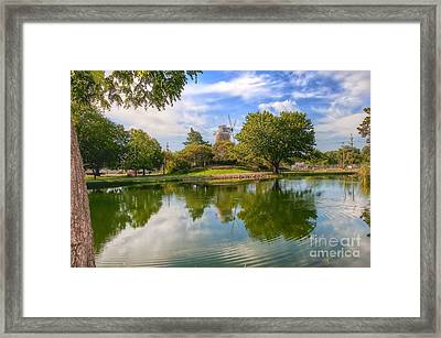 Dutch Mill  Framed Print by Liane Wright