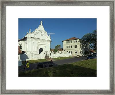 Dutch Reformed Church, C.1755 Framed Print by Panoramic Images