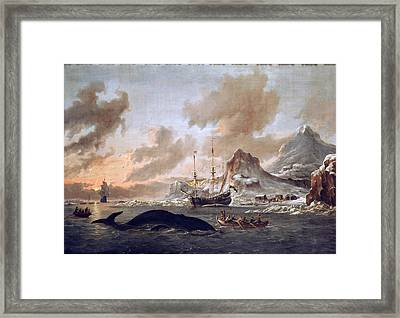 Dutch Whalers Framed Print by Celestial Images