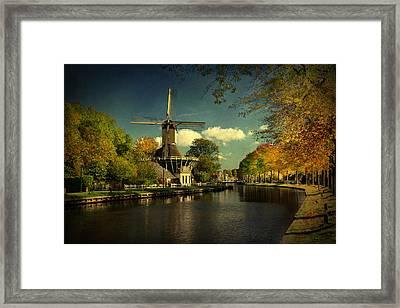Dutch Windmill Framed Print