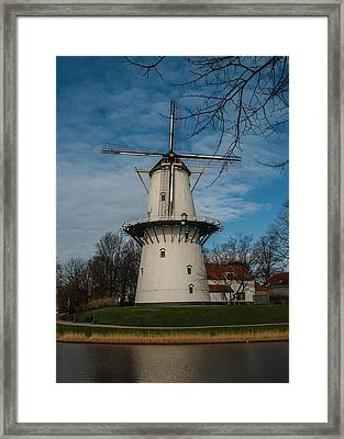 Dutch Windmill Framed Print