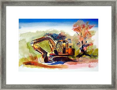 Duty Dozer II Framed Print by Kip DeVore