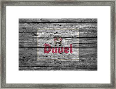 Duvel Framed Print by Joe Hamilton