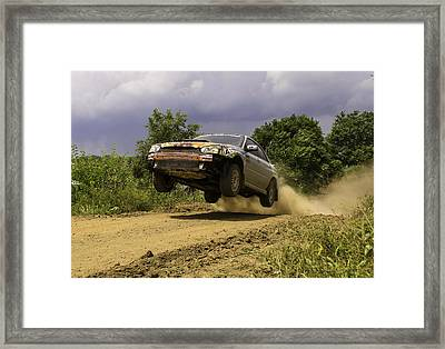 Dw Rally Team Takes Flight Framed Print