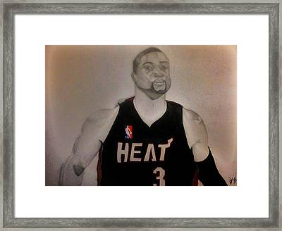 D.wade Framed Print by Michael Hugue