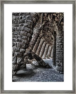 Dwarrowdelf Framed Print by Vlad Bubnov