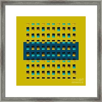 Dwell-no3 Framed Print by Darla Wood