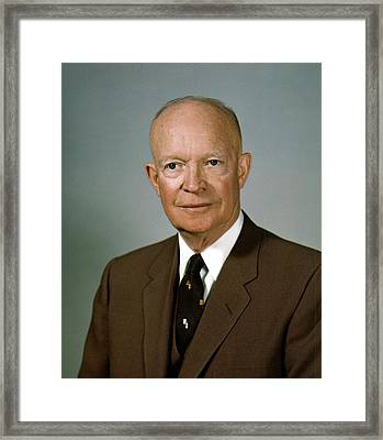 Dwight D. Eisenhower Framed Print