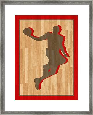 Dwight Howard Houston Rockets Framed Print by Joe Hamilton