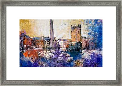 Dyed In The Wool Framed Print by Neil McBride