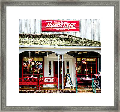 Dyer's Cafe Memphis  Framed Print