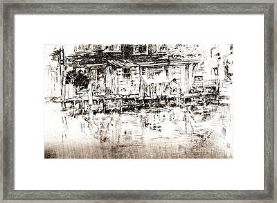 Dyers Longhouse Amsterdam 1889 Framed Print by Padre Art