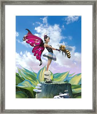 Dying Breed Framed Print by Kevin Hill