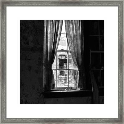 Dying Neighborhood Framed Print