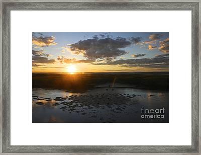 Dying Sun Framed Print