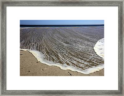 Dying Wave Framed Print