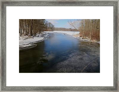 Dying Winter Framed Print by Frederic Vigne