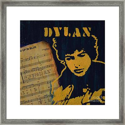 Dylan Framed Print