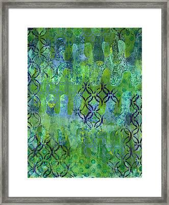 Dynamic 1 Framed Print by Lisa Noneman