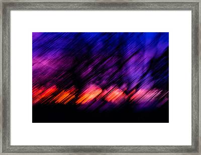 Dynamic Framed Print by Carrie Cole