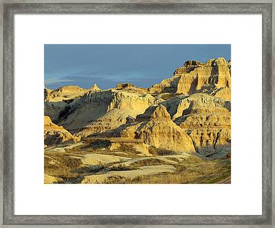Dynamic Lighting Framed Print by James Peterson