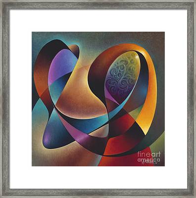 Dynamic Series #13 Framed Print by Ricardo Chavez-Mendez