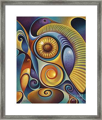 Dynamic Series #21 Framed Print by Ricardo Chavez-Mendez