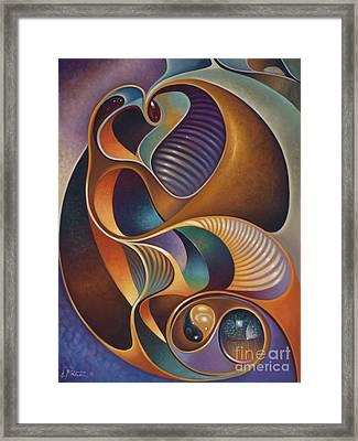 Dynamic Series #23 Framed Print by Ricardo Chavez-Mendez