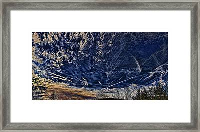 Dynamic Skyscape Framed Print