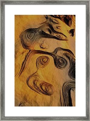 Dynamic World II Framed Print by Jean Paul Thierevere