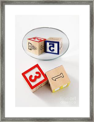 Dyslexia Framed Print by Photo Researchers