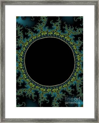 E C L I P S E Framed Print by Charles Dobbs