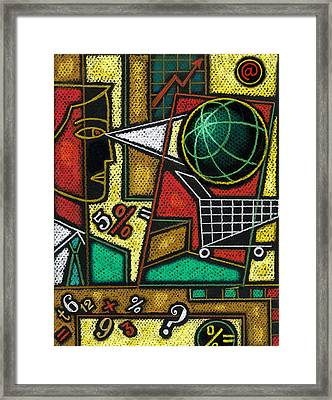 E-commerce Framed Print