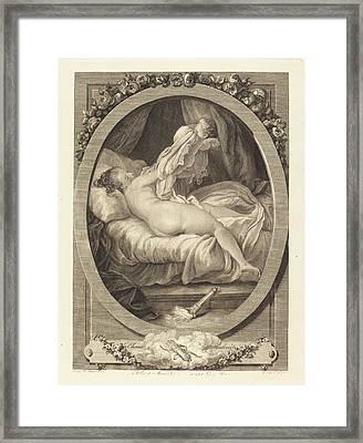 E. Guersant After Jean-honoré Fragonard French Framed Print by Quint Lox