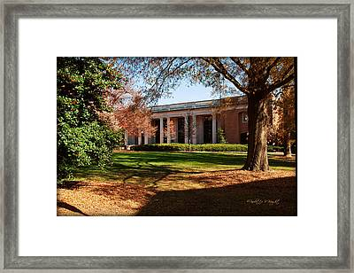 E H Little Library - Davidson College Framed Print by Paulette B Wright