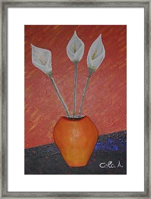 E' Sempre Primavera Framed Print by Andrea Cola