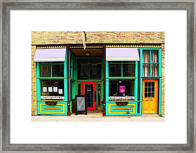 E V O O Store Framed Print by Chris Berry