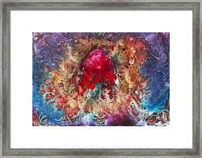 E001 Framed Print by Billy Roberts