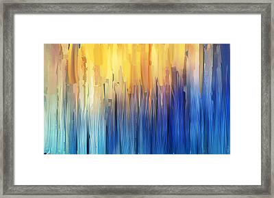 Each Day Anew Framed Print