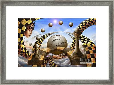Each Pawn Dreams To Become A Queen Framed Print by Sergey Malkov