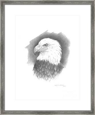 Eagle-1 Framed Print by Lee Updike