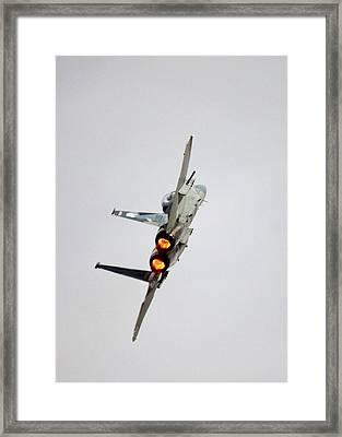 Eagle Afterburner 2 Framed Print