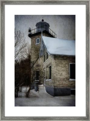 Eagle Bluff Light Framed Print