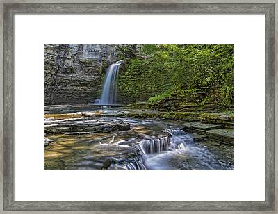 Eagle Cliff Falls Framed Print