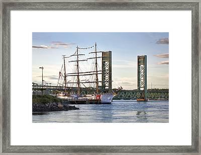 Eagle Cutter Framed Print