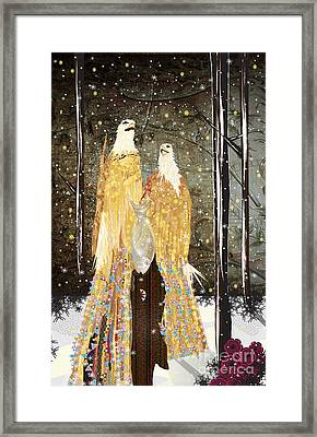 Winter Dress Framed Print by Kim Prowse