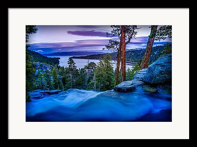 Eagle Creek Framed Prints