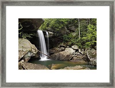 Eagle Falls - D002751 Framed Print by Daniel Dempster