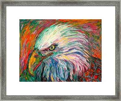 Eagle Fire Framed Print