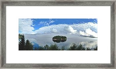 Eagle Island Framed Print
